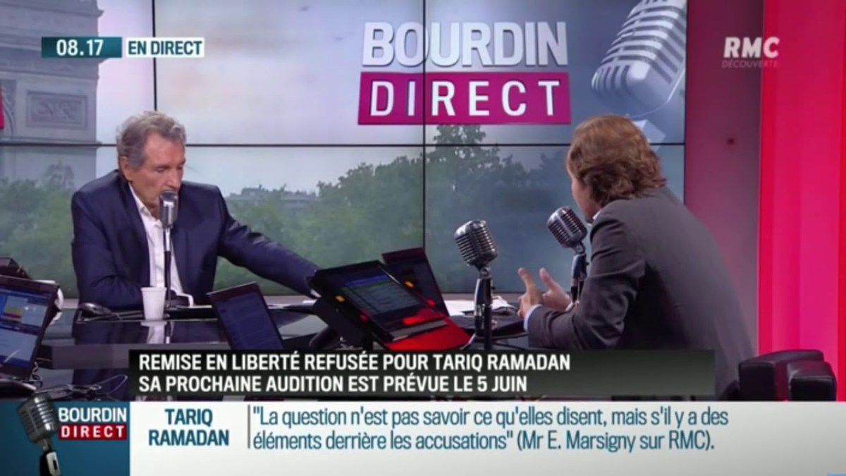 Affaire Ramadan : les approximations et mensonges de Me Marsigny chez Bourdin (RMC) !