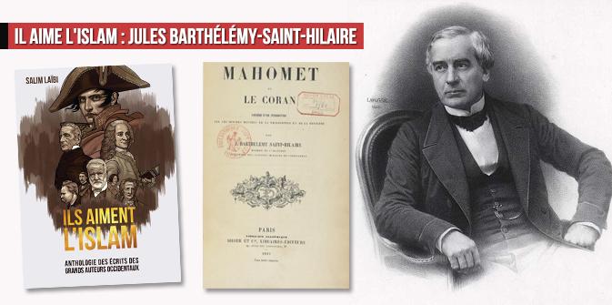 Il aime l'Islam : Jules Barthélémy-Saint-Hilaire