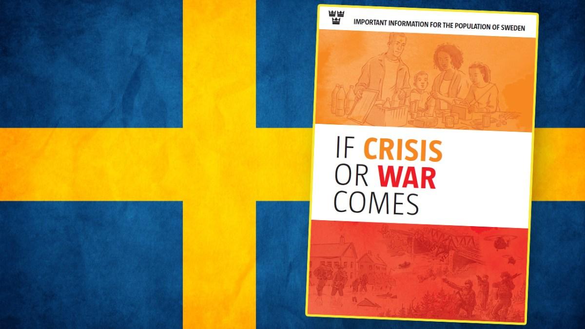 « En cas de crise ou de guerre » : quand la Suède prépare sa population à la guerre