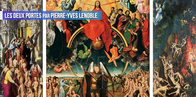 Les deux portes par Pierre-Yves Lenoble