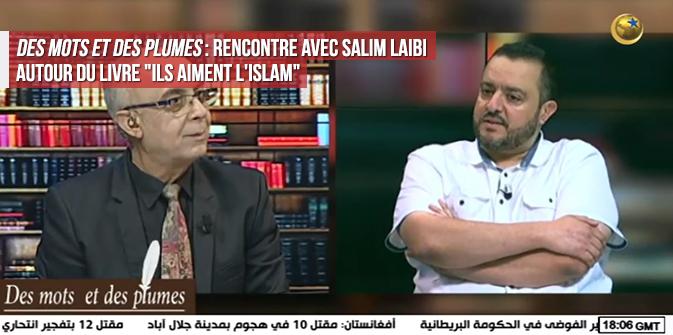 Des mots et des plumes : rencontre avec Salim LAIBI autour du livre « Ils aiment l'Islam »