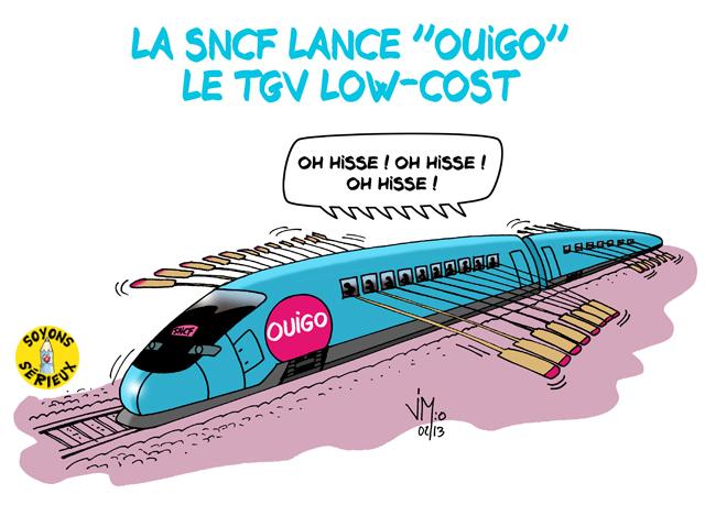 Pourquoi Ouigo, les nouveaux trains « low-cost » de la SNCF, est une arnaque ?