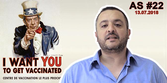 Actu au Scalpel #22 – Vaccins : Michel Cymès poursuit sa propagande anti Joyeux!