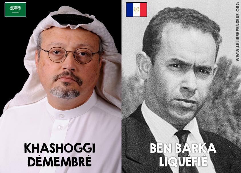 Khashoggi/Ben Barka, la tradition barbare des services de renseignements