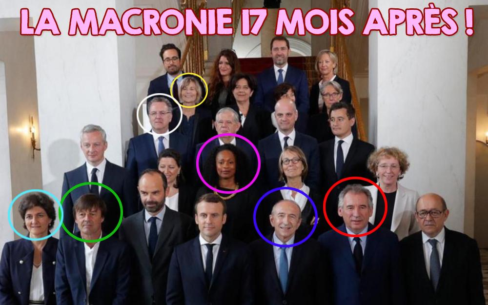 La Macronie à l'agonie !