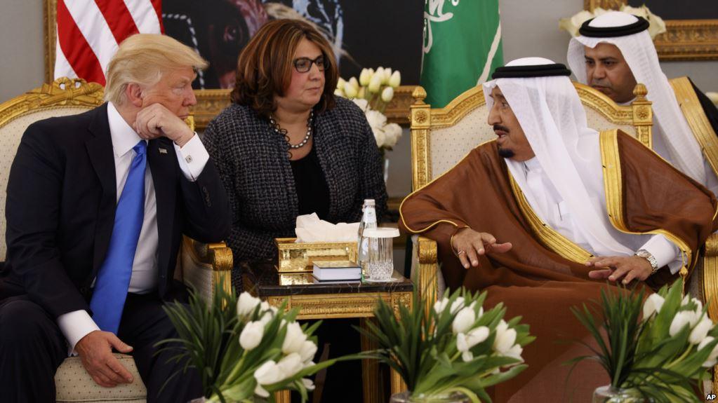 Mafia yankee : « Vous ne resteriez pas au pouvoir pour deux semaines sans nous » dixit Trump au roi Salmane