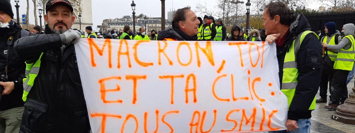 #GiletsJaunes : l'augmentation du Smic promise par Macron n'en est pas une !