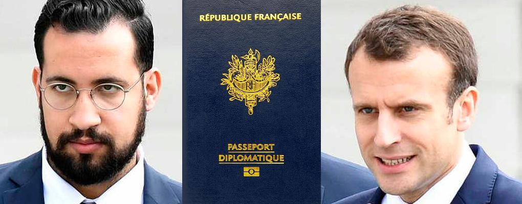 Macron au bord du précipice avec cette nouvelle affaire de passeports diplomatiques de Benalla