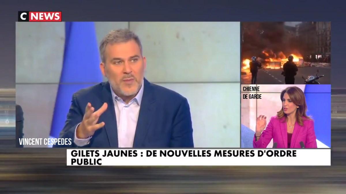 Vincent Cespedes courageux et seul face à la meute médiatique !