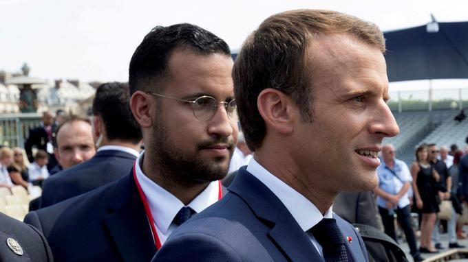 Franc-maçon, Benalla est suspendu à titre conservatoire de sa loge