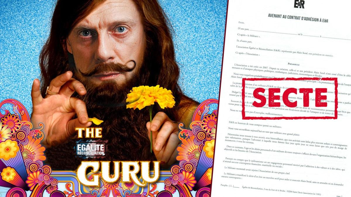 Document confidentiel : Soral transforme la secte ER en asile psychiatrique !