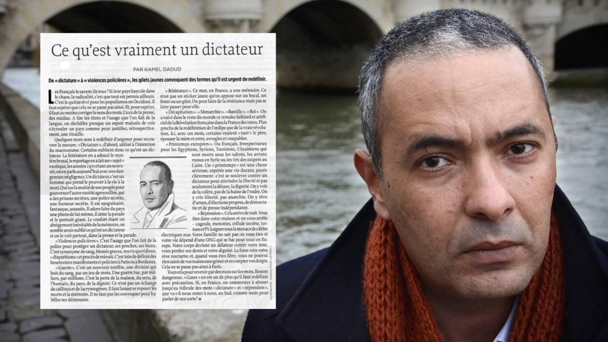 #GiletsJaunes : Kamel Daoud fait semblant de ne pas comprendre !