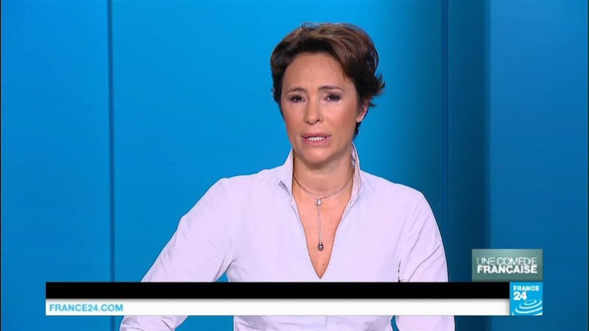 Roselyne Febvre de France 24 insulte les #GiletsJaunes !