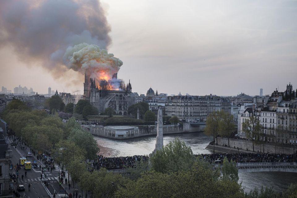 Notre-Dame : Ivan Rioufol a parlé «d'attentat» et de «choc des civilisations» !