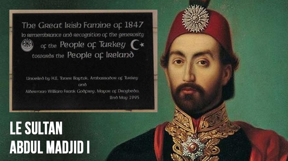 Histoire peu connue d'une aide turque généreuse aux Irlandais pendant la Grande Famine de 1847
