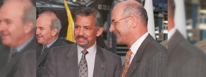 Le sultan de Brunei Grand croix de la Légion d'honneur. Oui et après ?