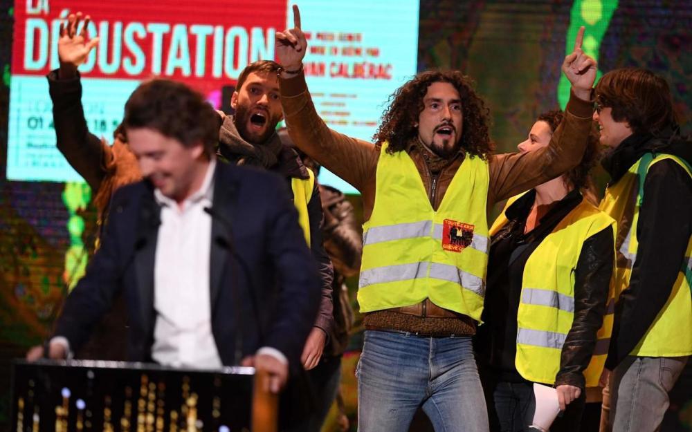 Molières : France 2 censure la séquence des Gilets jaunes !