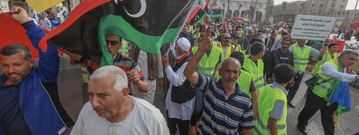 « Ici c'est la Libye, pas la France » : à Tripoli, des manifestants dénoncent une « ingérence » de Paris, accusé de soutenir le maréchal Haftar