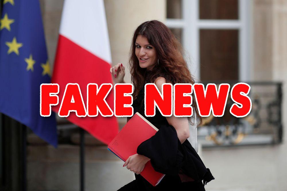 Fake news : Marlène Schiappa a largement abusé sur les faits !