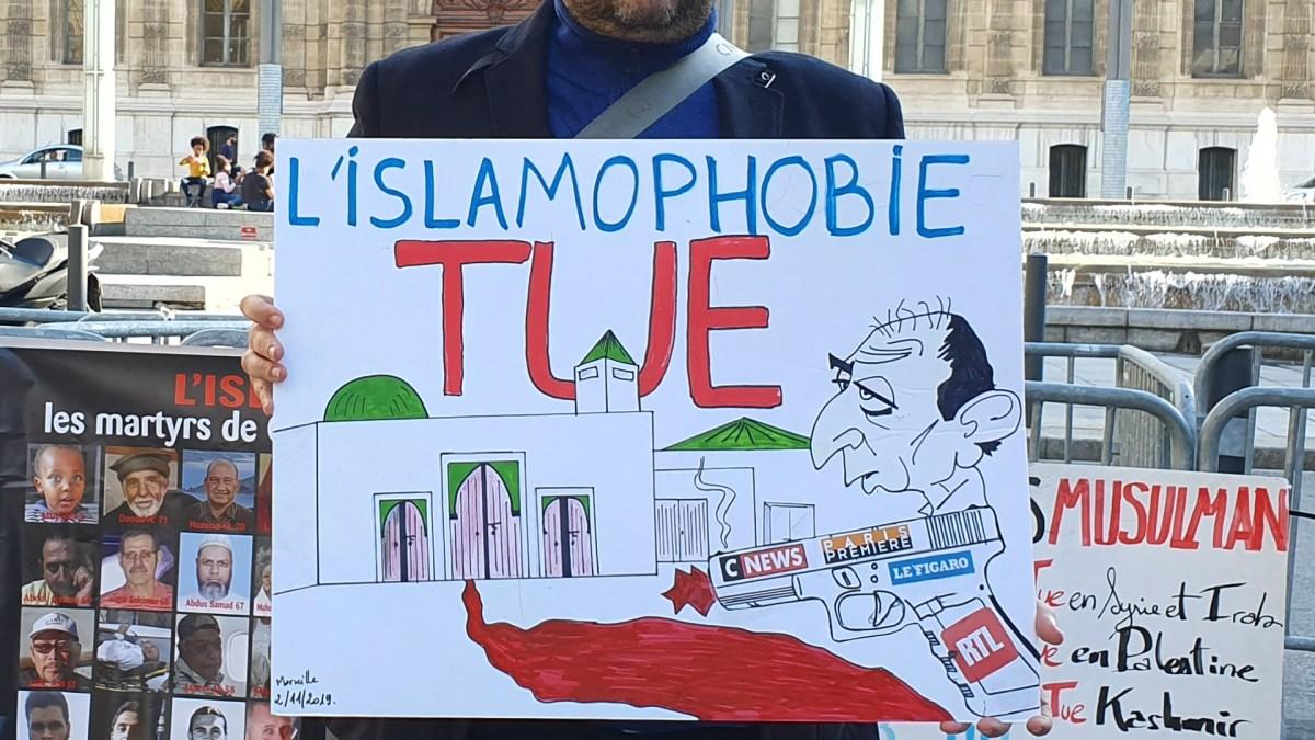 Manifestation contre l'islamophobie à Marseille par Salim Laïbi