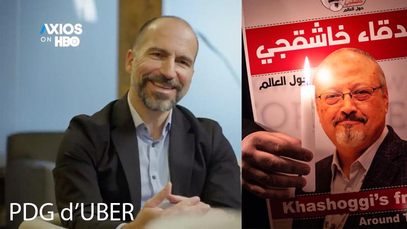 Assassinat de Jamal Khashoggi : « une erreur pardonnable », selon le CEO d'Uber