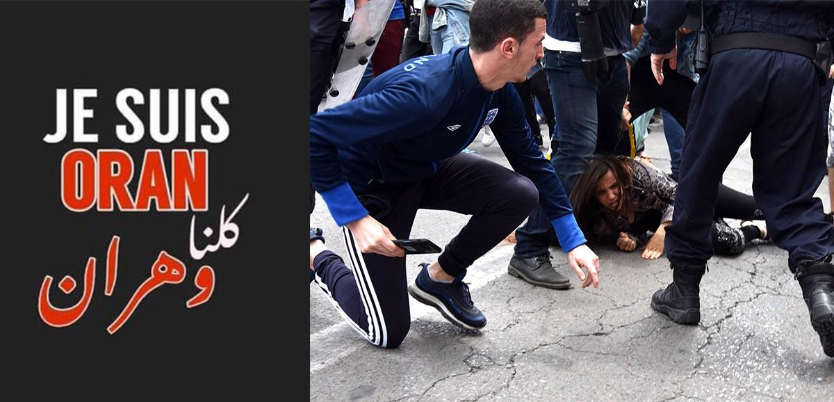 Algérie : répression brutale à Oran !