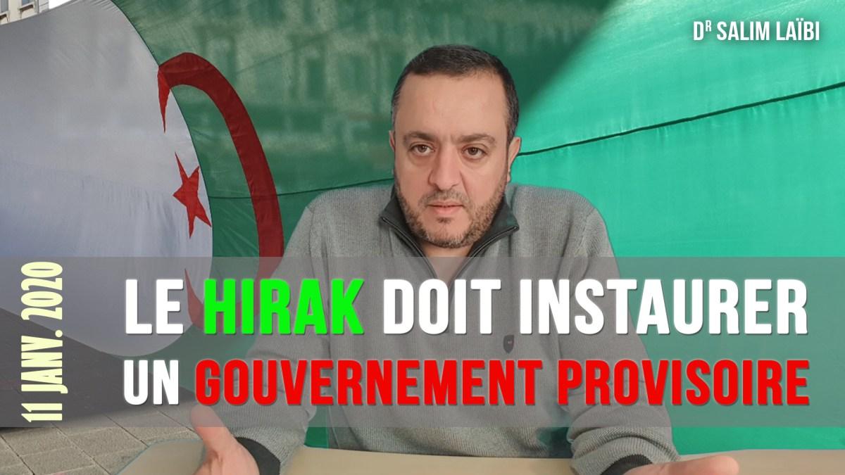 Algérie : le Hirak doit mettre en place un « gouvernement provisoire »