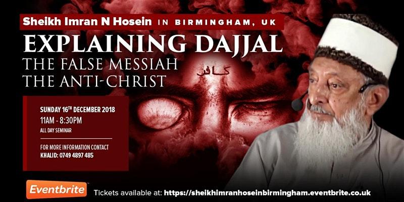 À propos de Sheikh Imran Hosein !
