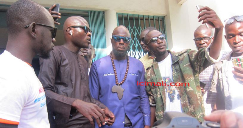 Mali : Kemi Seba annoncé à Bamako pour la grande manifestation du 10 janvier