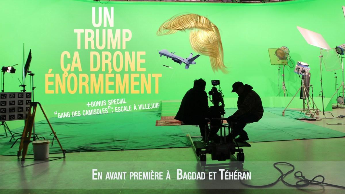 Un Trump ça drone énormément, par Le Bouc Émissaire
