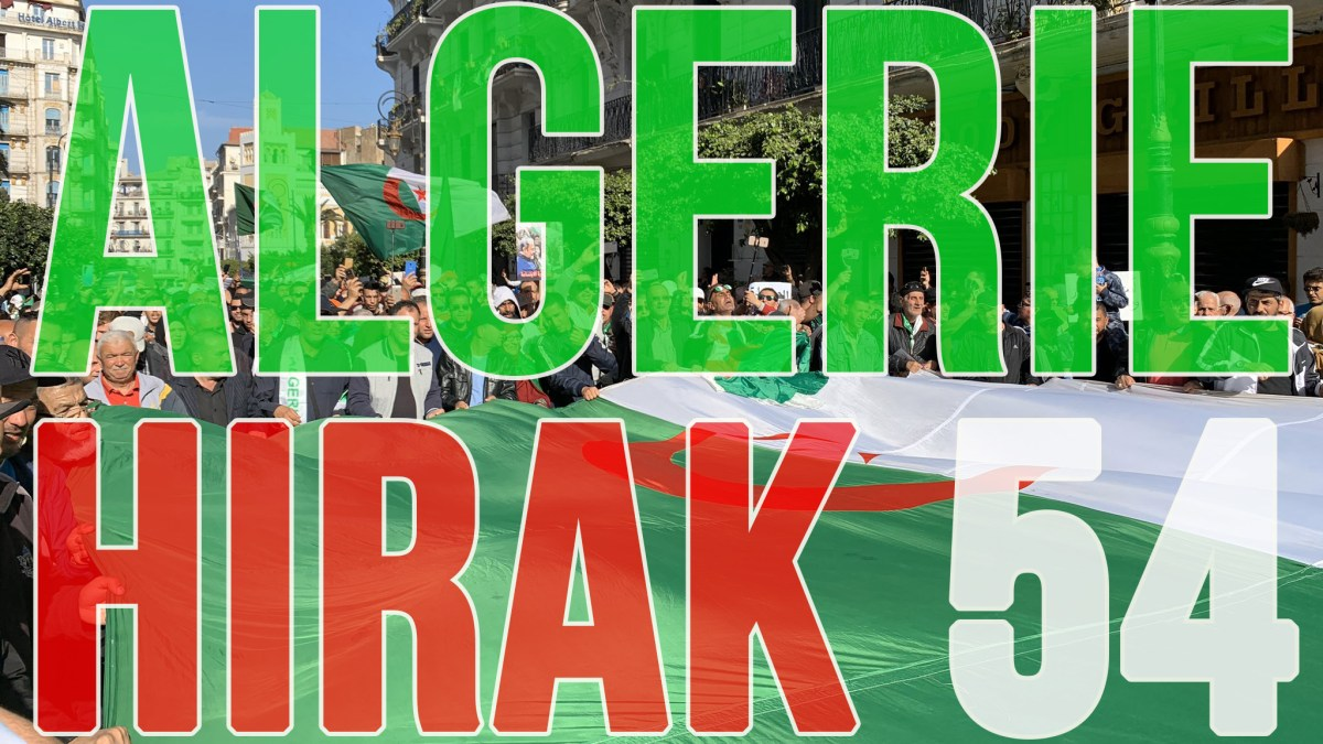 Algérie : des millions de manifestants pour le 54e Hirak du vendredi 28 février 2020 ! [vidéos + photos]