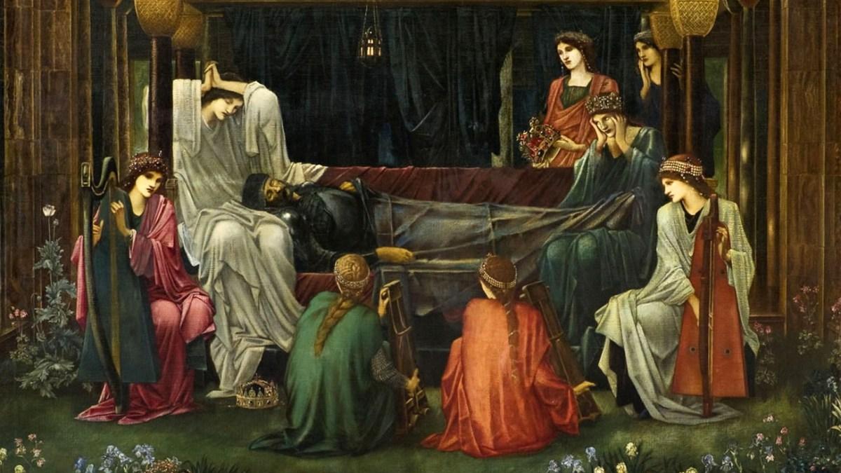 La légende du Roi endormi, par Pierre-Yves Lenoble