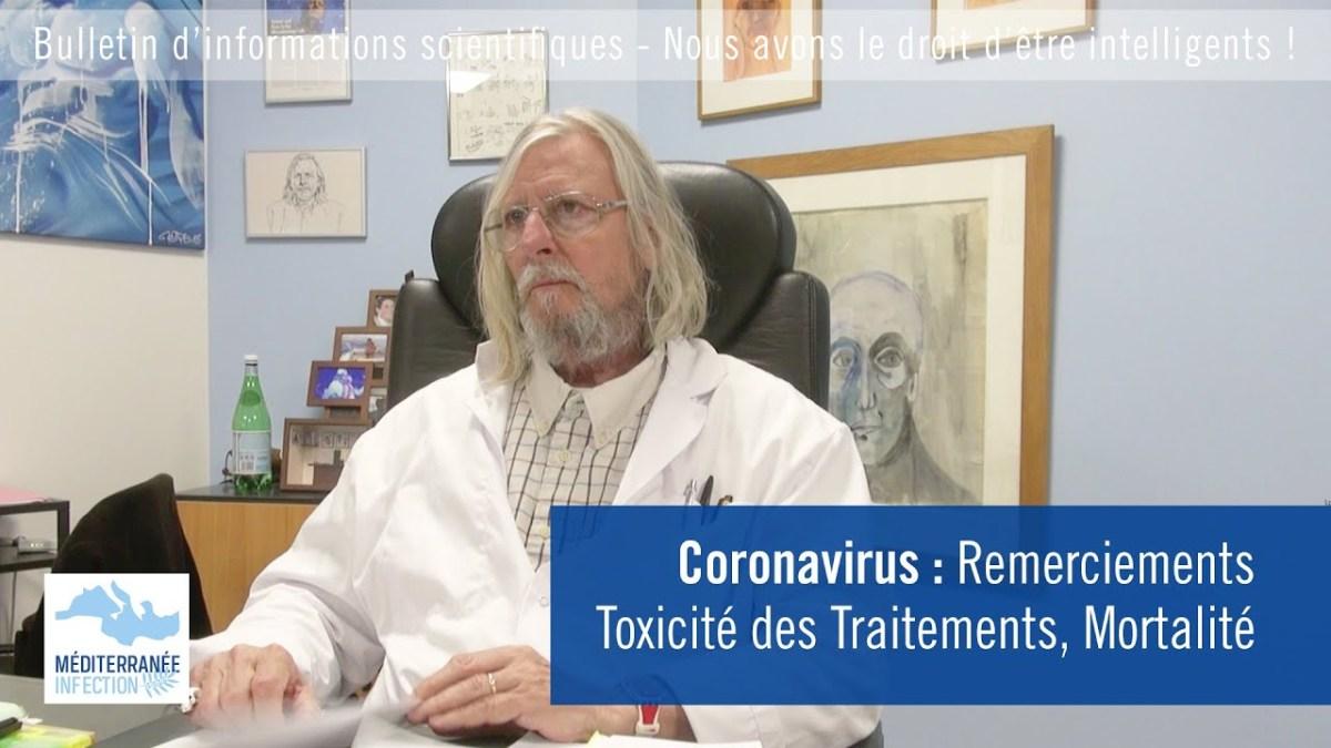 Coronavirus : dernière vidéo du Pr Didier Raoult