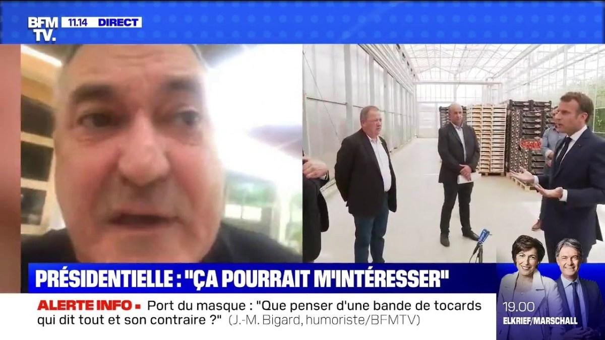 Jean-Marie Bigard s'entretient avec Macron sur la chloroquine et a des ambitions présidentielles !