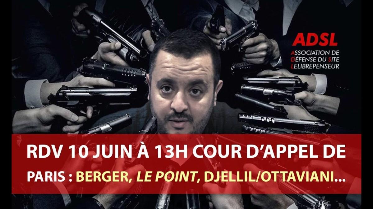 Harcèlement judiciaire et procès du 10 juin : Bergé, Le Point, Mairie de Marseille…