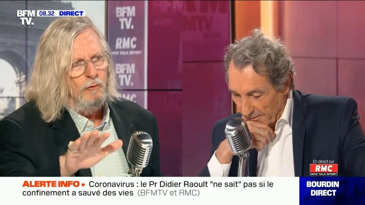 Le Pr Didier Raoult était l'invité de Bourdin ! Pourquoi ?