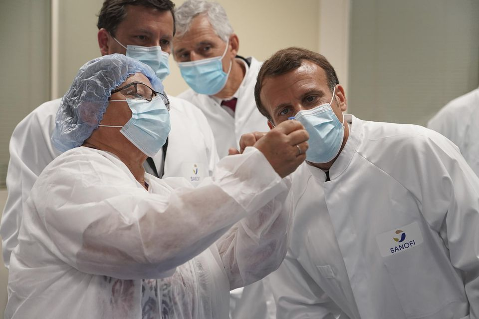 La gifle de Sanofi à Macron !