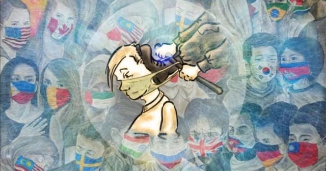 Coronavirus et manipulation politico-sociale : le masque comme rite de passage vers un Nouvel Ordre Mondial…