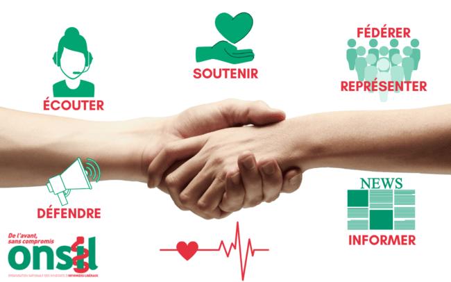Anomalie : l'Onsil, syndicat infirmier, félicite le nouveau Ministre des Solidarités et de la Santé !