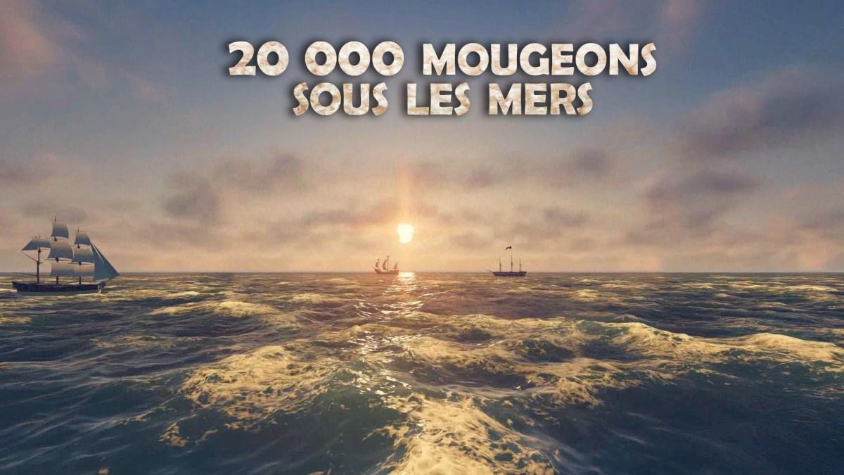 20 000 Mougeons sous les mers