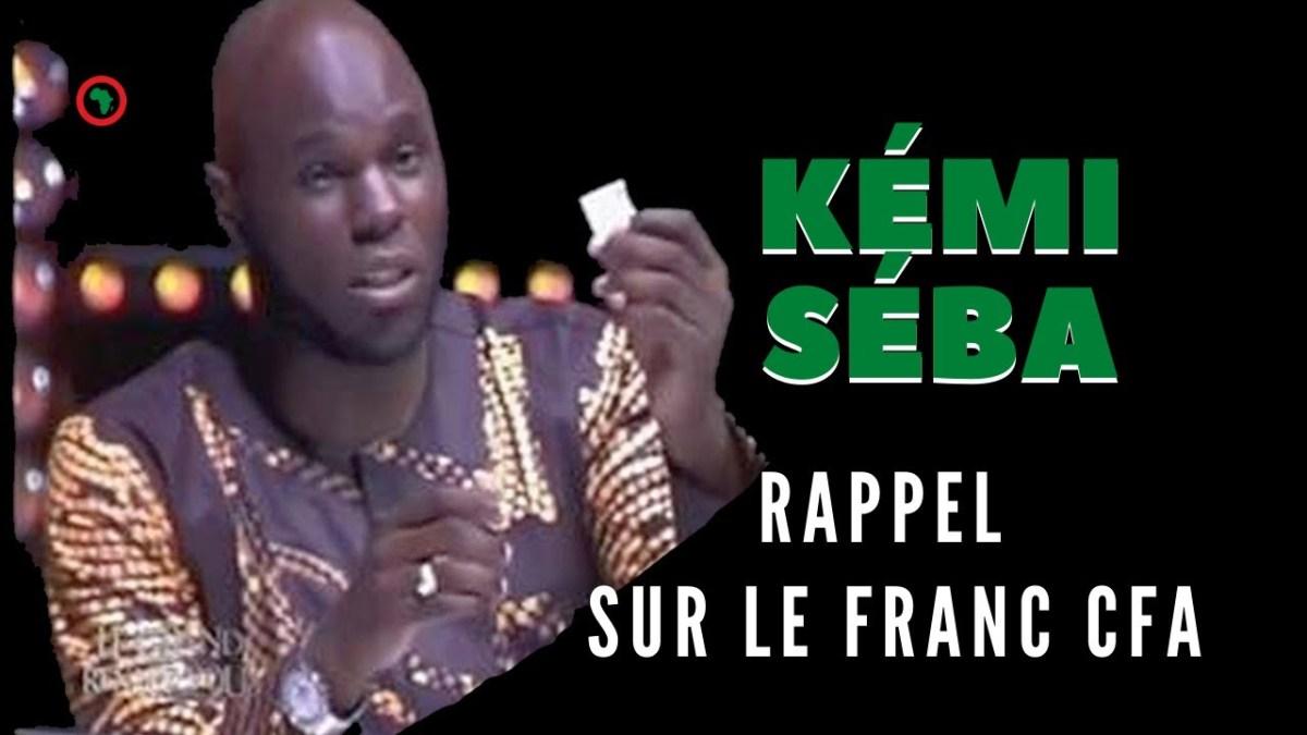 Le franc CFA expliqué en 5 minutes par Kemi Seba