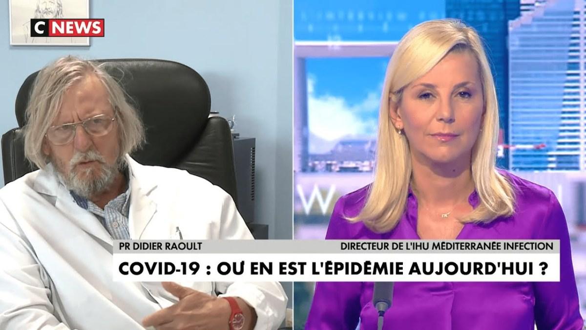 Didier Raoult brillantissime face à Laurence Ferrari sur la situation actuelle du Covid-19