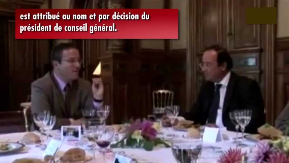L'immmmmonde Martin Hirsch : sa vidéo avec François Hollande !