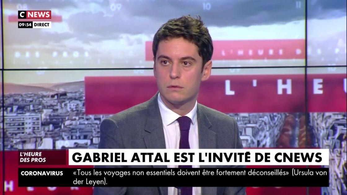 Gabriel Attal en flagrant délit de fake news !