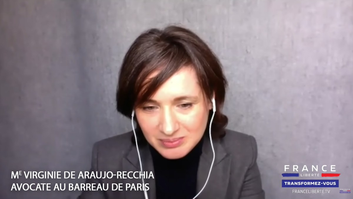 Maître Virginie de Araujo-Recchia : « Illégalité des mesures Covid, action collective contre l'État »