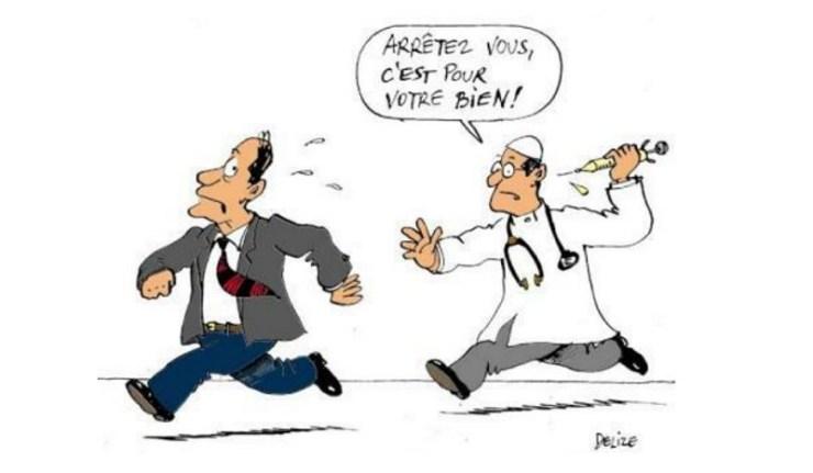 La France en tête du refus de la vaccination