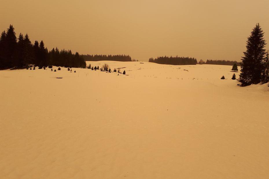 Les poussières de sable du Sahara étaient porteuses de Césium-137, résidu d'anciens essais nucléaires français