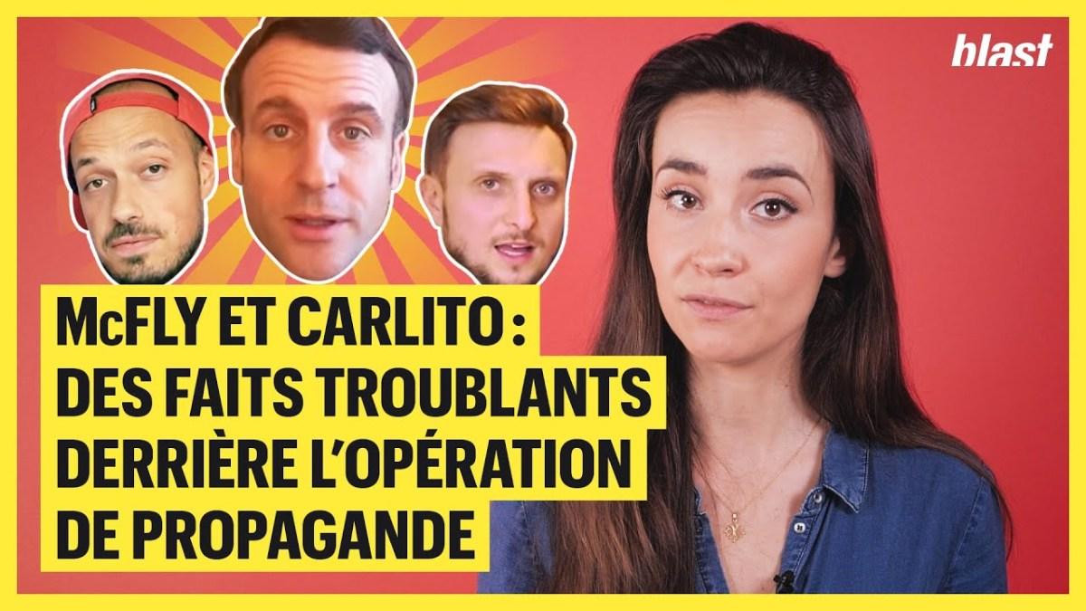 Propaganda : McFly et Carlito manipulés par Macron et Larem !