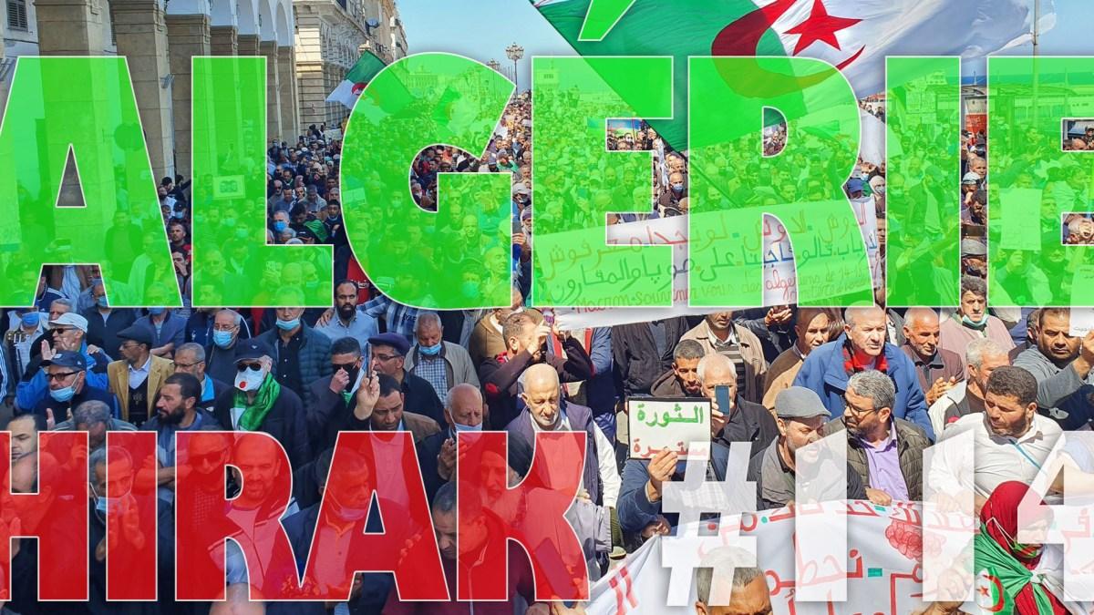 Algérie : manifestations exceptionnelles pour le 114e Hirak ! [vidéos + photos]
