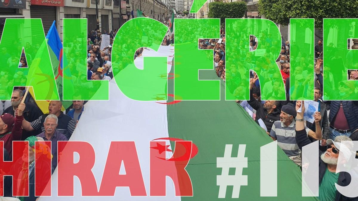 Algérie : manifestations exceptionnelles pour le 115e Hirak ! [vidéos + photos]